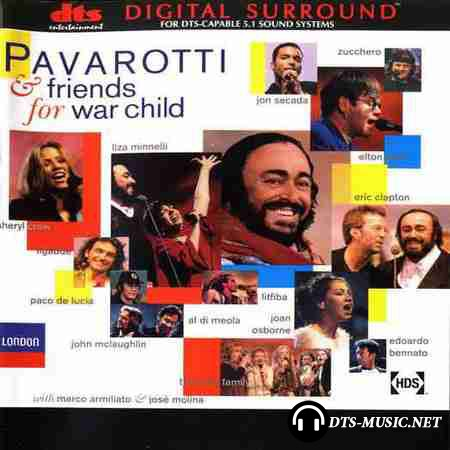 VA - Pavarotti and Friends - For War Child (1996) DTS (image + .cue)