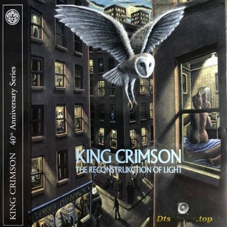 King Crimson (ProjeKct X) - The ReconstruKction Of Light (Anniversary Edition) (2000, 2019) DVDA