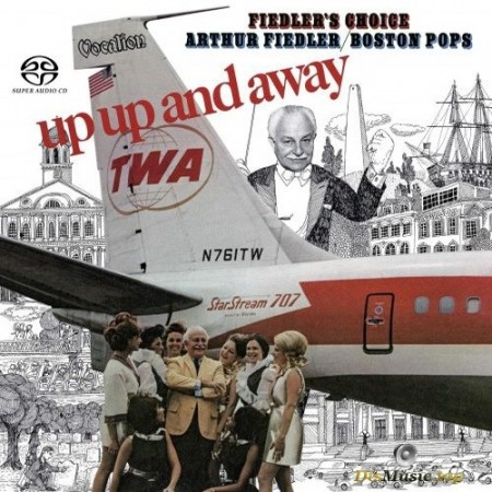 Arthur Fiedler & the Boston Pops - Up, Up and Away & Fiedler's Choice (1968,1970/2019) SACD