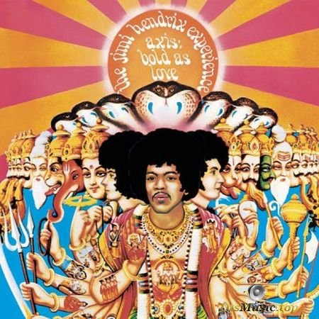 The Jimi Hendrix Experience - Axis: Bold As Love (2018) SACD-R
