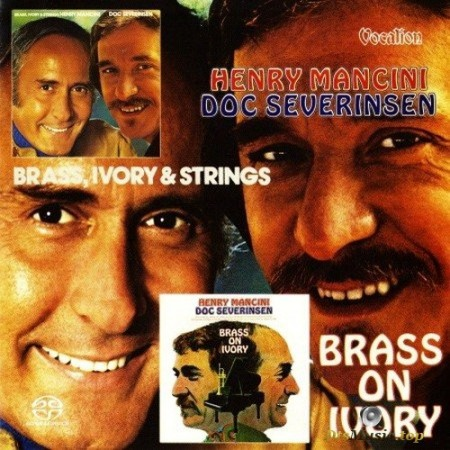 Henry Mancini & Doc Severinsen - Brass, Ivory and Strings & Brass on Ivory (1972-73/2016) SACD
