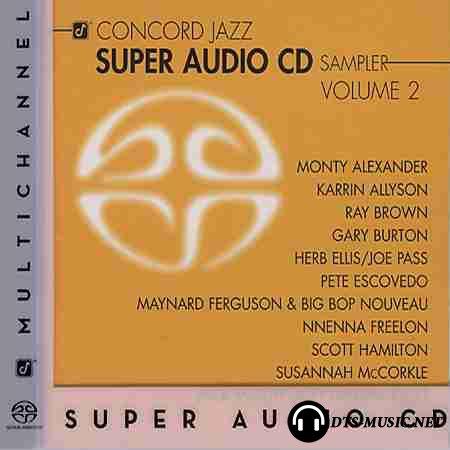 VA - Concord Jazz: SACD Sampler. volume 2 (2004) SACD-R