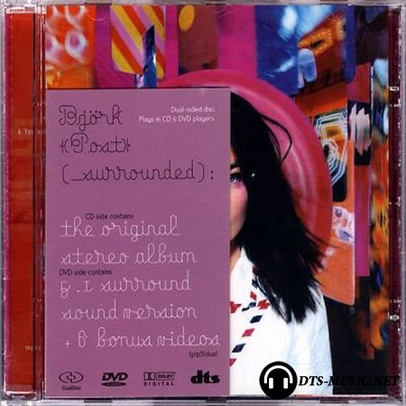Bjork - Post (2006) Audio-DVD