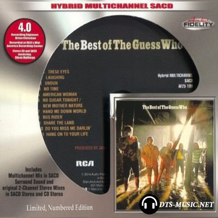 The Guess Who - The Best of The Guess Who (2015) SACD-R