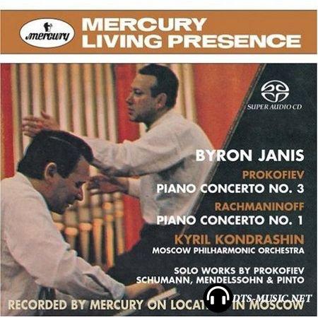 Prokofiev, Rachmaninoff - Piano Concertos - Byron Janis, Kyril Kondrashin, Moscow PO (2005) SACD-R