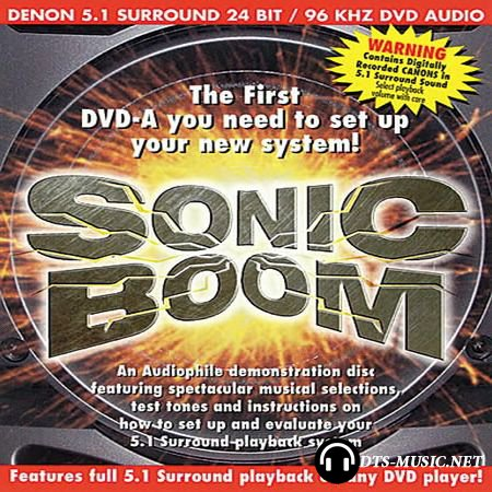 Denon Sonic Boom - DVD Audio Demonstration Disc (2002) DTS 5.1
