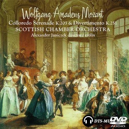 Wolfgang Amadeus Mozart - Colloredo Serenade K.203 and Divertimento K.251 (2008) DVD-Audio