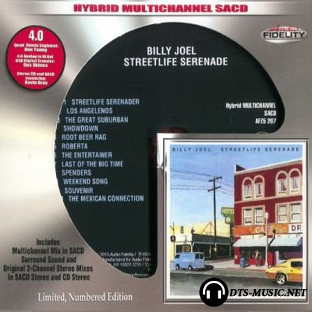 Billy Joel - Streetlife Serenade (2015) SACD-R