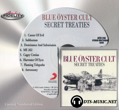 Blue Öyster Cult - Secret Treaties (2016) SACD-R