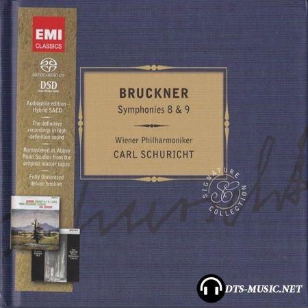 Anton Bruckner - Symphonies No8, No9 - Carl Schuricht, Wiener Philharmoniker (2012) SACD-R