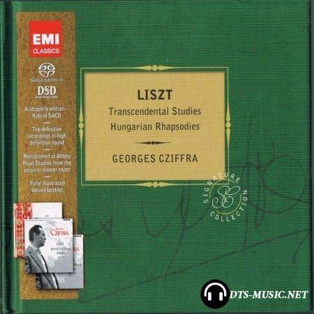 Georges Cziffra - Franz Liszt: Hungarian Rhapsodies & Transcendantal Studies (12 Etudes d'execution transcendante) (2012) SACD-R