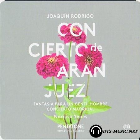 Narciso Yepes (guitar), Garcia Navarro (conductor) - Rodrigo: Concierto de Aranjuez, Concierto madrigal (1977, 2014) (Orchestral, Guitar) SACD-R