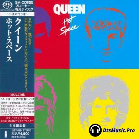 Queen - Hot Space (2012) SACD-R