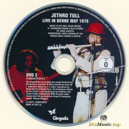 Jethro Tull - Live In Berne, May 1978: Heavy Horses (New Shoes Edition) (2018) DVD-Audio