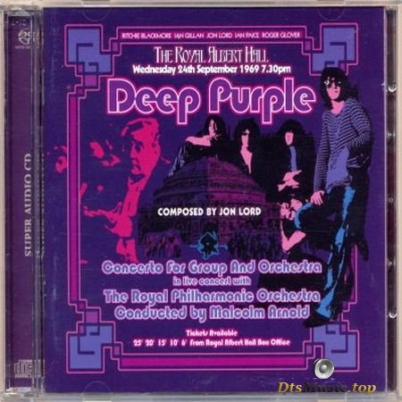 Deep Purple - Concerto For Group And Orchestra (2002) SACD-R