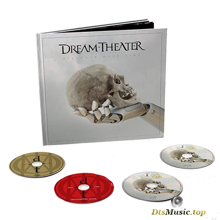 Dream Theater - Distance Over Time (Ltd. Artbook Edition, 2CD+DVD+BD) (2019) Blu-Ray