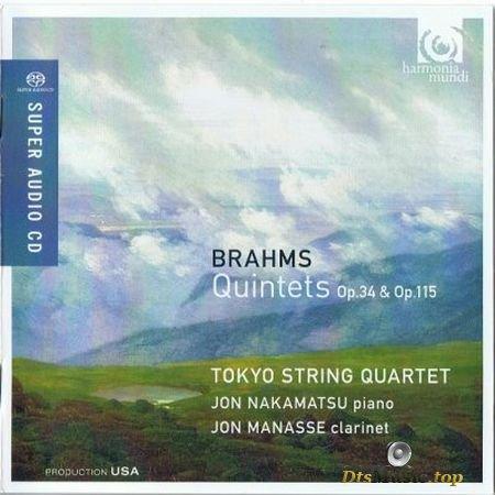 Tokyo String Quartet, Jon Manasse, Jon Nakamatsu - Brahms : Quintets Op. 34 & Op. 115 (2012) SACD-R