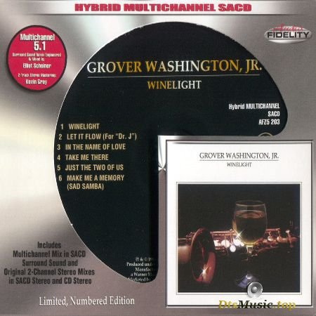 Grover Washington, Jr. - Winelight (AF Limited, Numbered Edition) (1980, 2015) SACD-R