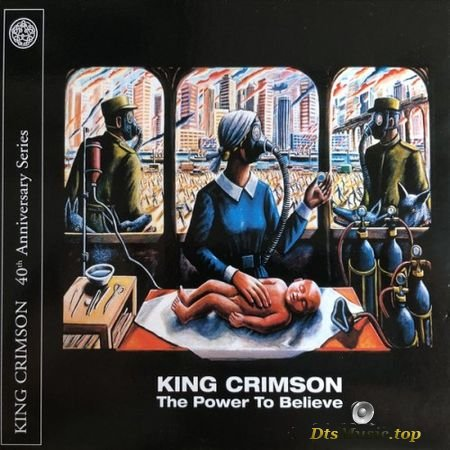 King Crimson (ProjeKct X) - The Power To Believe 40th Anniversary Series DVD (Anniversary Edition) (2003, 2019) DVD-Audio