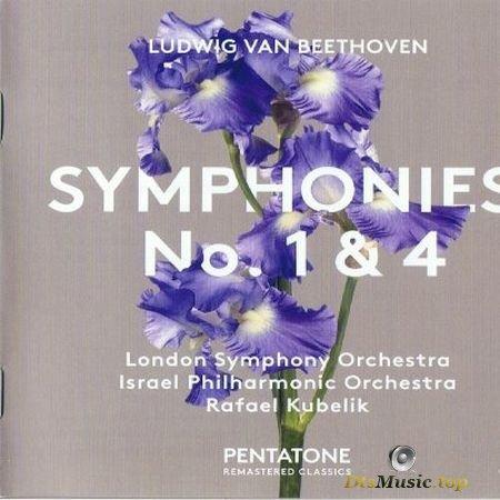 Rafael Kubelik, London Symphony Orchestra, Israel Philharmonic Orchestra - Beethoven: Symphonies 1 & 4 (2017) SACD-R