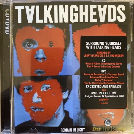 Talking Heads - Remain In Light (1980, 2005) DVD-A