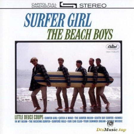 The Beach Boys - Surfer Girl (1963/2015) SACD