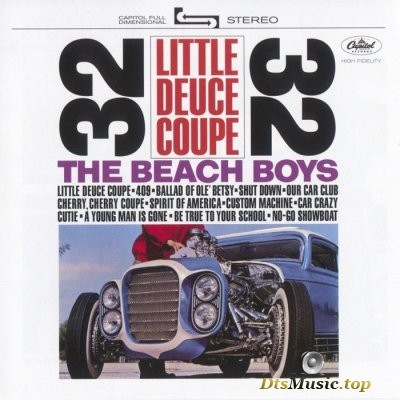 The Beach Boys - Little Deuce Coupe (2015) SACD-R