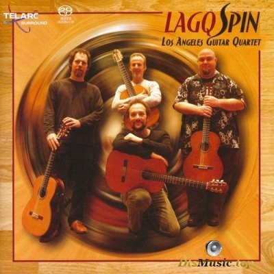Los Angeles Guitar Quartet - Spin (2006) SACD-R