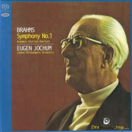 Brahms: The Four Symphonies (Eugen Jochum, London Philharmonic Orchestra) (1976, 2017) SACD-R