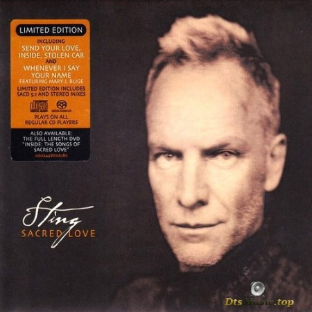 Sting - Sacred Love (Limited Edition) (2003) SACD