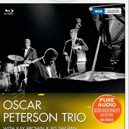 The Oscar Peterson Trio with Ray Brown & Ed Thigpen - Cologne Gurzenich Concert Hall (1961/2013) [Blu-Ray Audio]