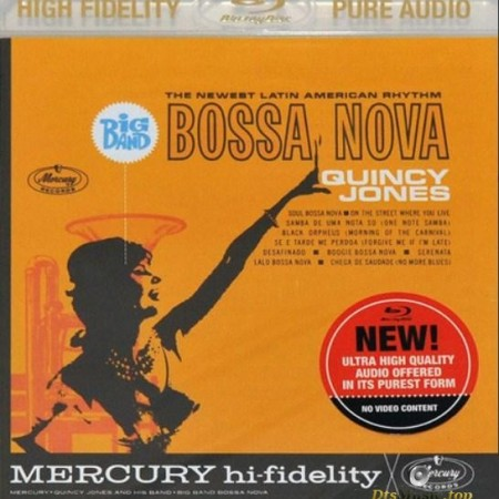 Quincy Jones - Big Band Bossa Nova (1962/2013) [Blu-Ray Audio]