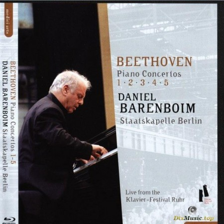Beethoven - Piano concertos No. 1, 2, 3, 4, 5  (2009) [Blu-Ray 1080i]
