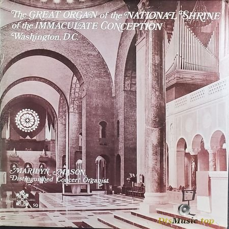 Marilyn Mason - The Great Organ of the National Shrine of the Immaculate Conception (SQ encoded LP) DVD-A