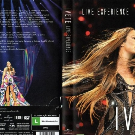 Ivete Sangalo - Live Experience (2019) [DVD9 + DVD5]