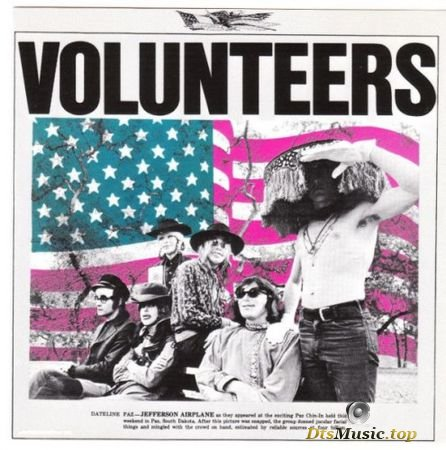 Jefferson Airplane - Volunteers (1969) DVD-A